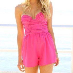 Sabo Skirt Jolie Orchid Playsuit Pink Romper NEW